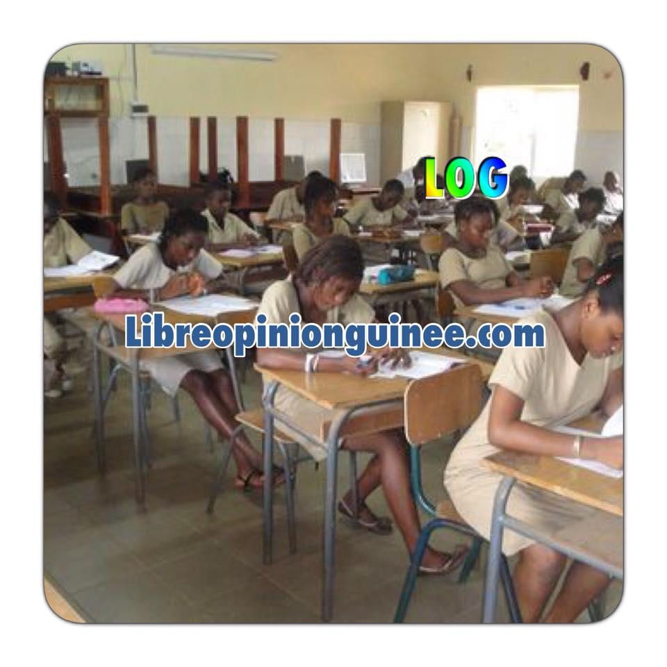 photo élève guinee