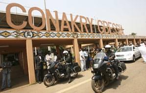 aéroport de guinée