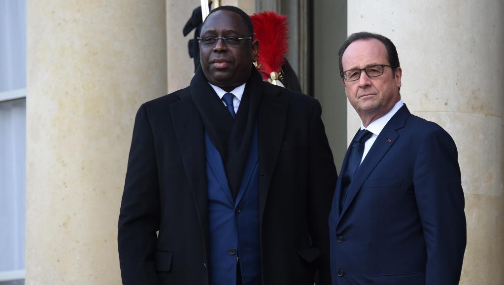 photo macky sall et François hollande