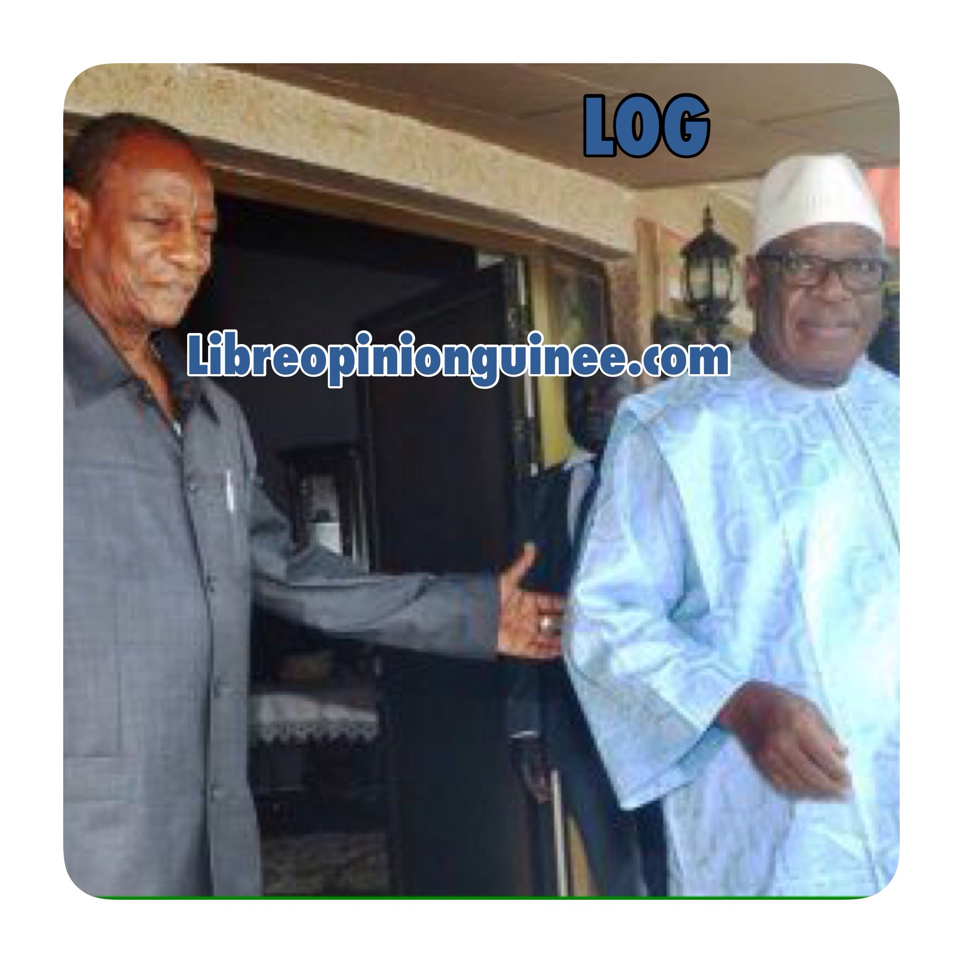 Photo Alpha Conde Ibrahim Boubacar Keita