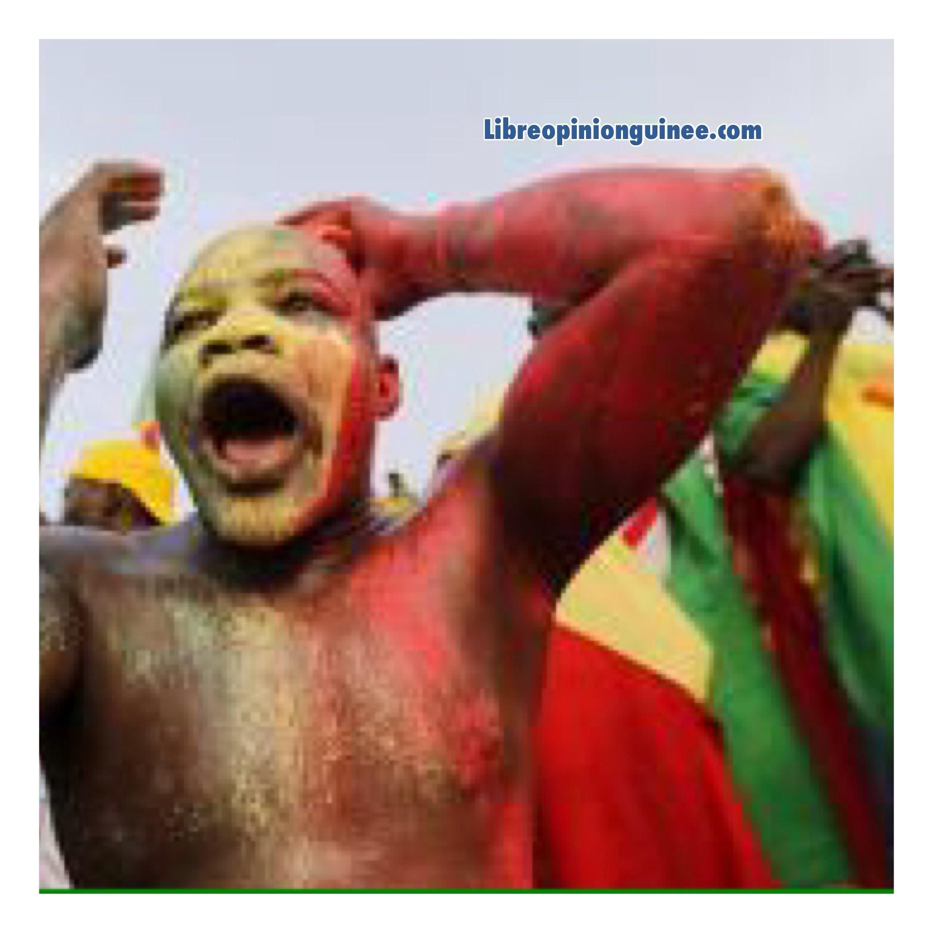 Photo supporteurs Mali Guinée