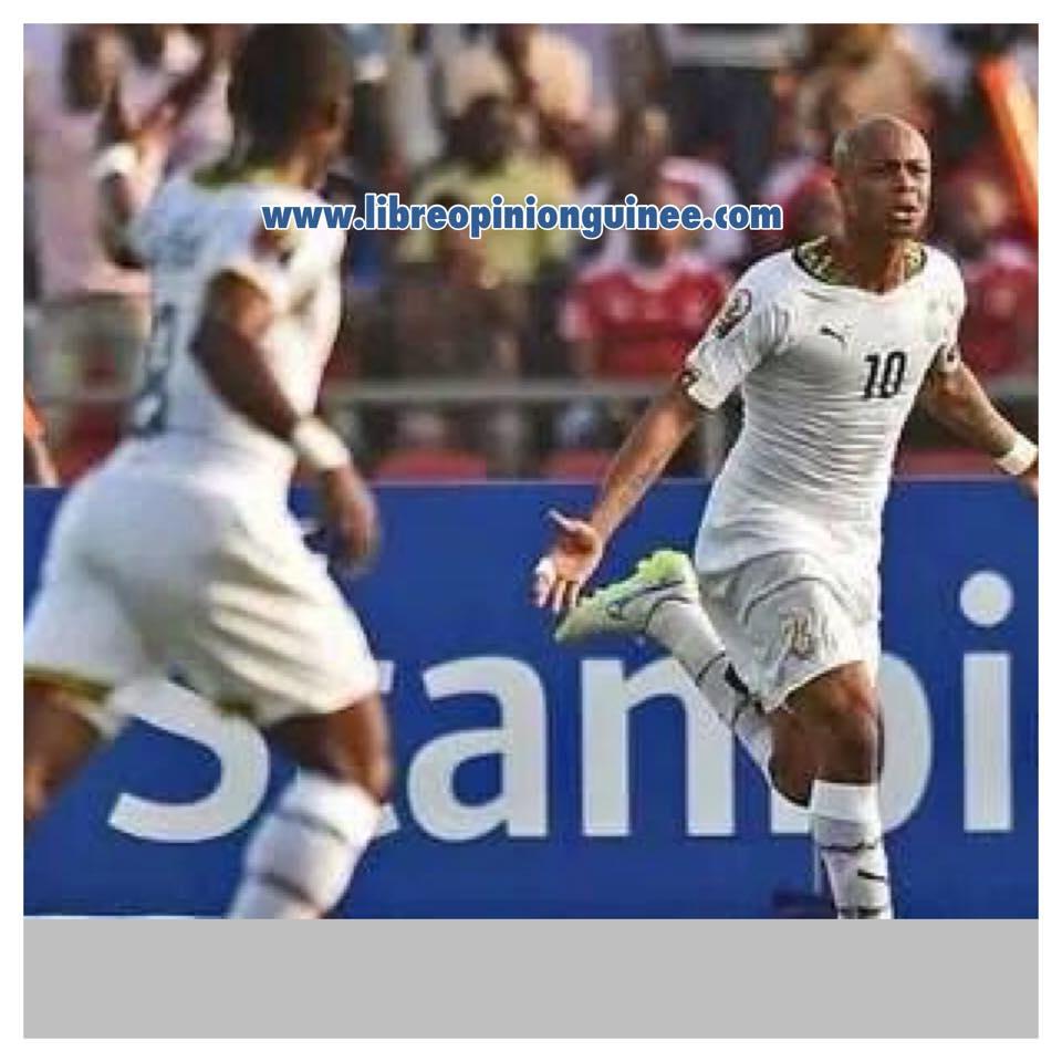 photo équipe du Ghana andey ayou