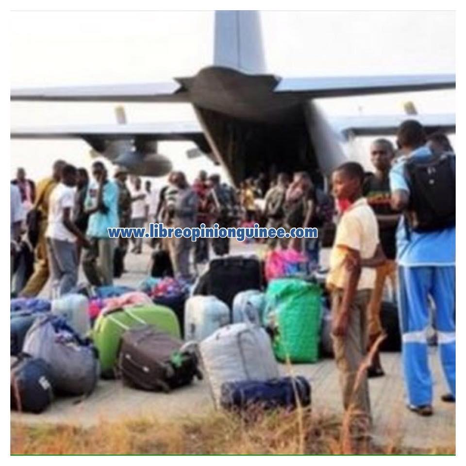 photo guinéen rapatrié de l'angola