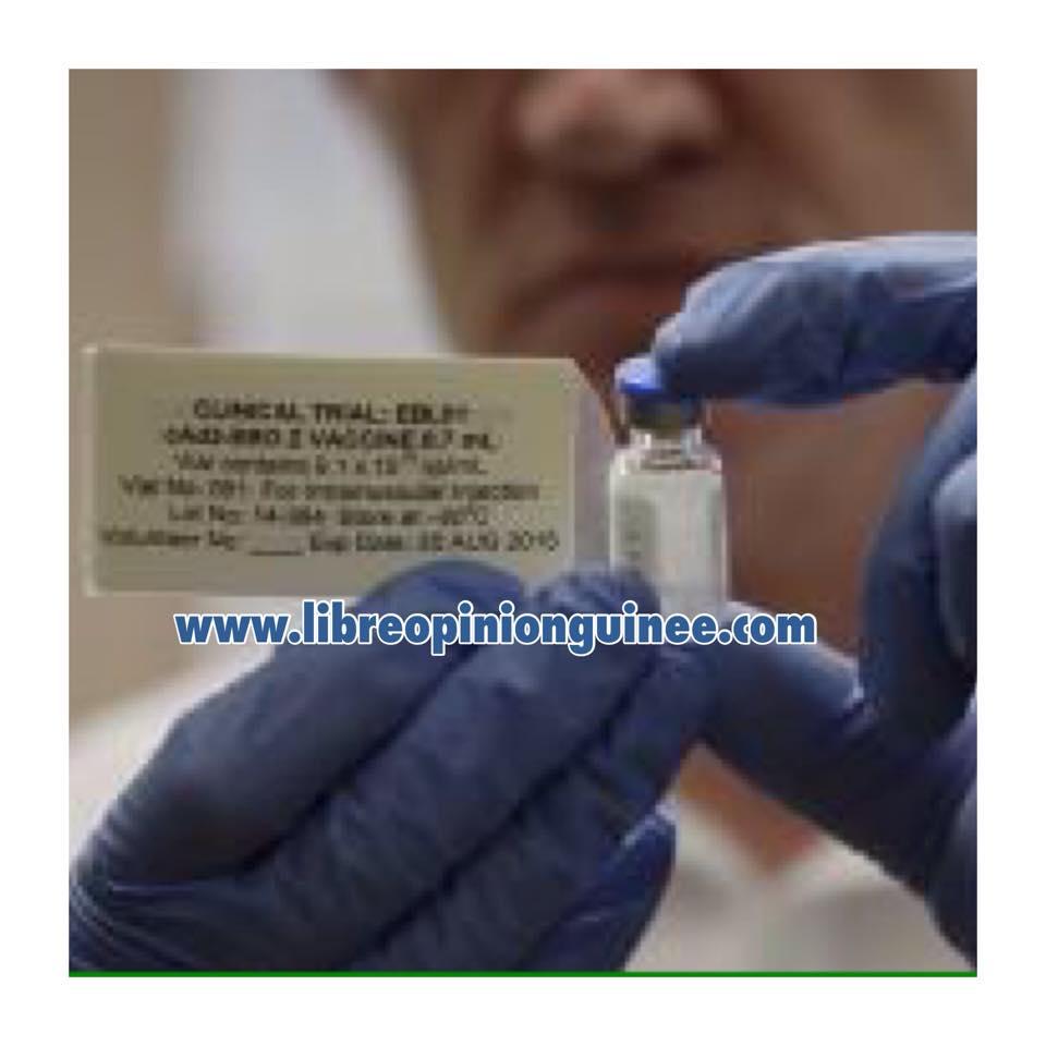 photo vaccin contre le virus Ebola