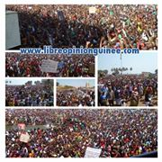photo manifestant guinée