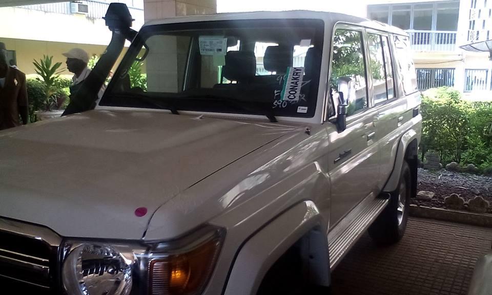 voiture de député guinée