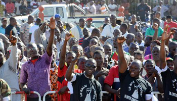 manifestation contre la garde présidentielle au burkina faso