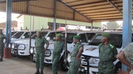 Photo bataillon Guinéen au Mali
