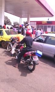 crise de carburant à Conakry
