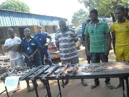 Photo des bandits guinéens