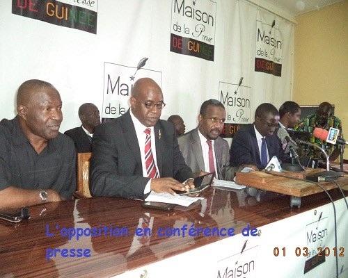 Photo opposantt guinéenne