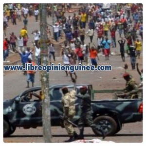 Photo manifestation guinée