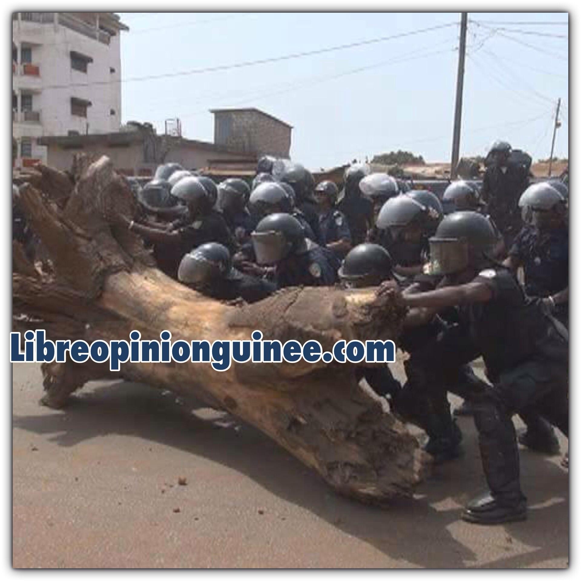 Photo police guinéenne
