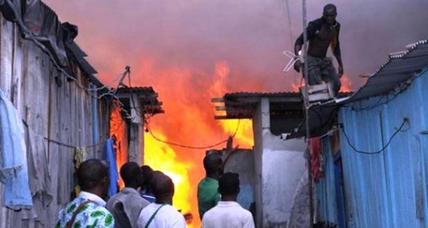 Photo incendie ce ibrahima bah rtg