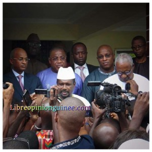 Photo opposition et mouvance guinéenne