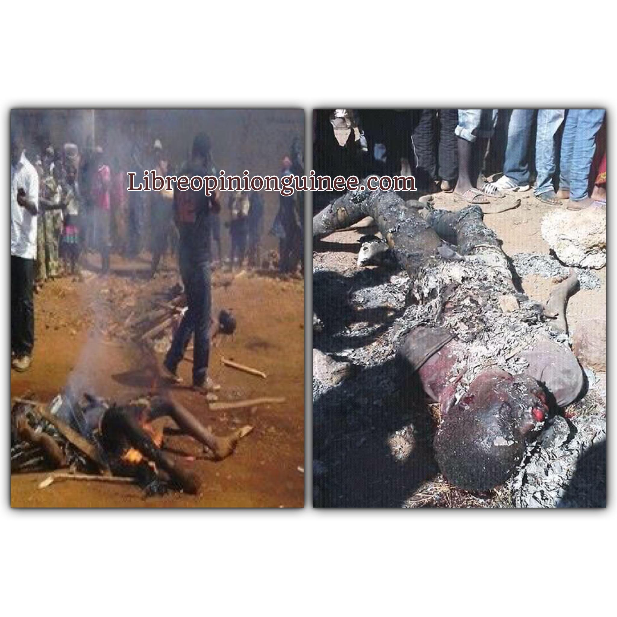 Lynchage à kouroussa Guinée
