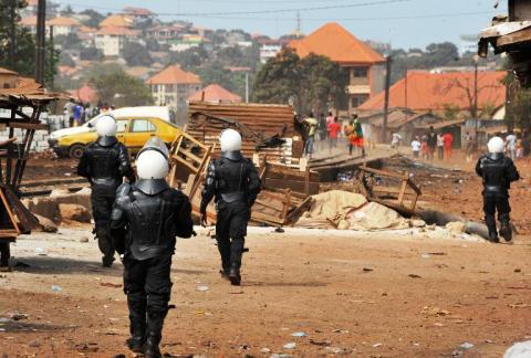 Manifestation guinée