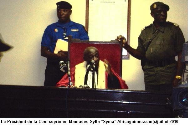 Cour constitutionnelle Guinée