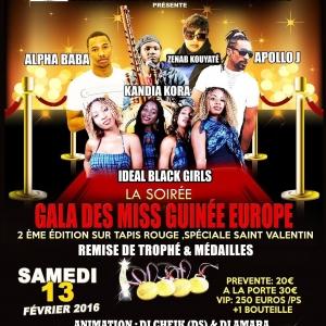 Miss gala Bruxelle