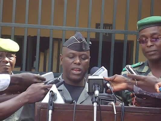 gendarme Guinée