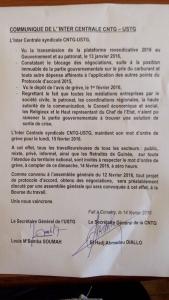 Grève en Guinée