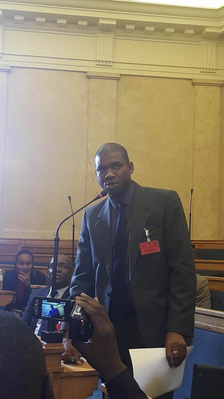Macka Baldé NFD à Lassemblée Nationale Française