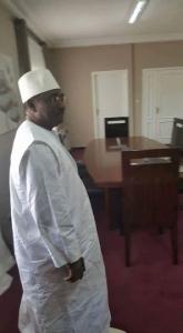 Sidya Toure bureau haut représentant du chef de l'Etat