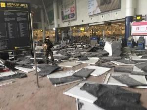 Explosion a l'aéroport de Bruxelles