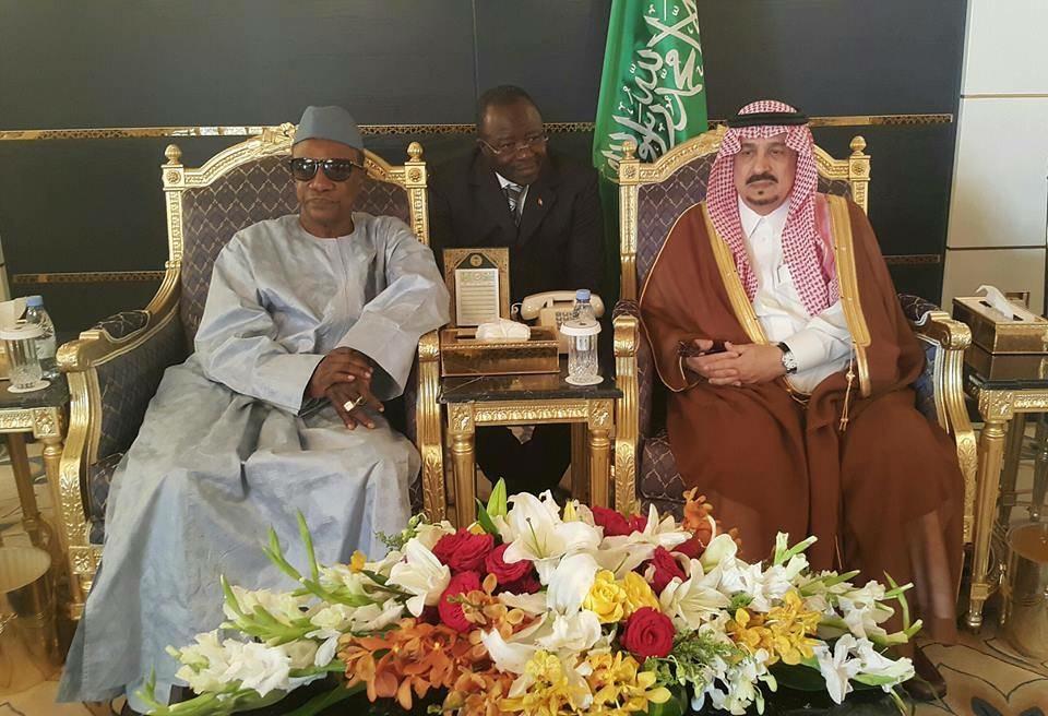 Alpha Condé et roi Arabie Saoudite
