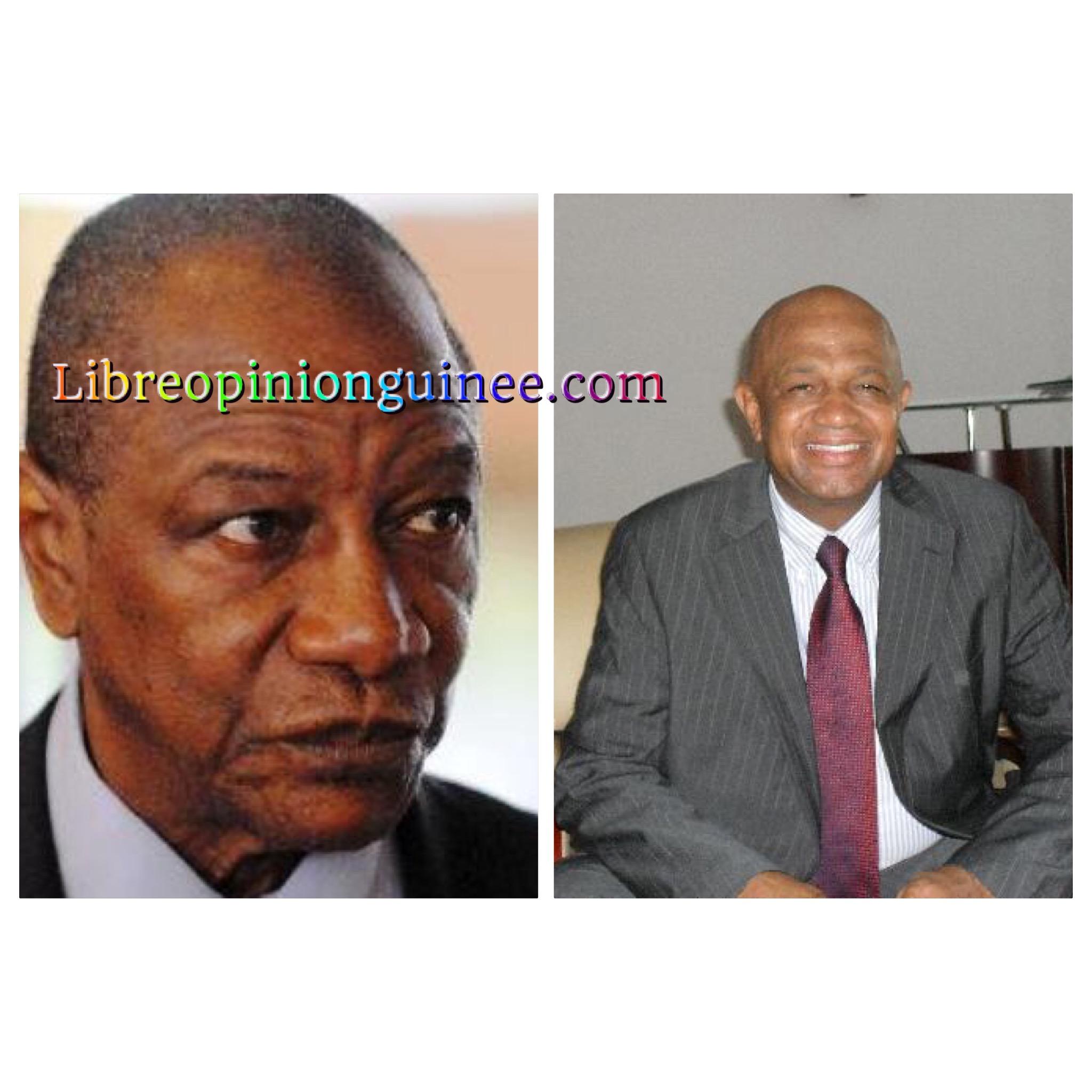 Alpha Conde Guinée , AGBE Sylla Ngr