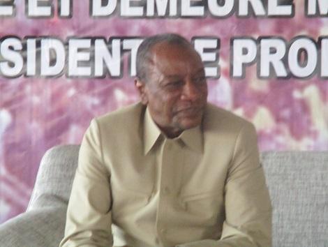 Alpha Conde President Guinee