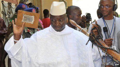 Yahya Jammeh Gambie