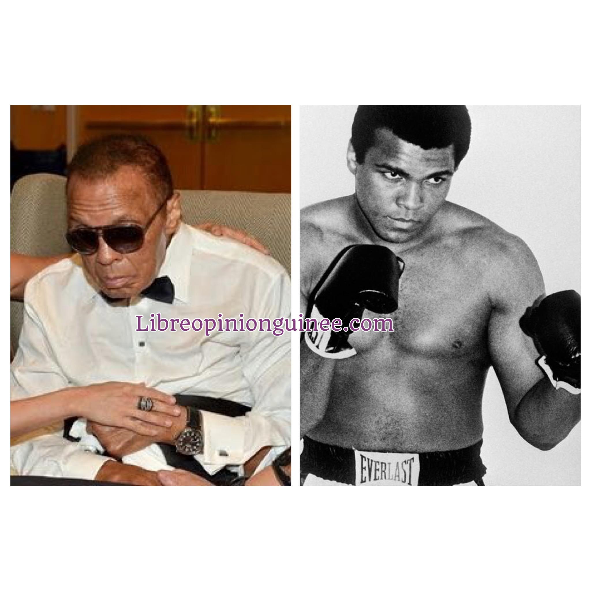 Mohamed Ali boxeur