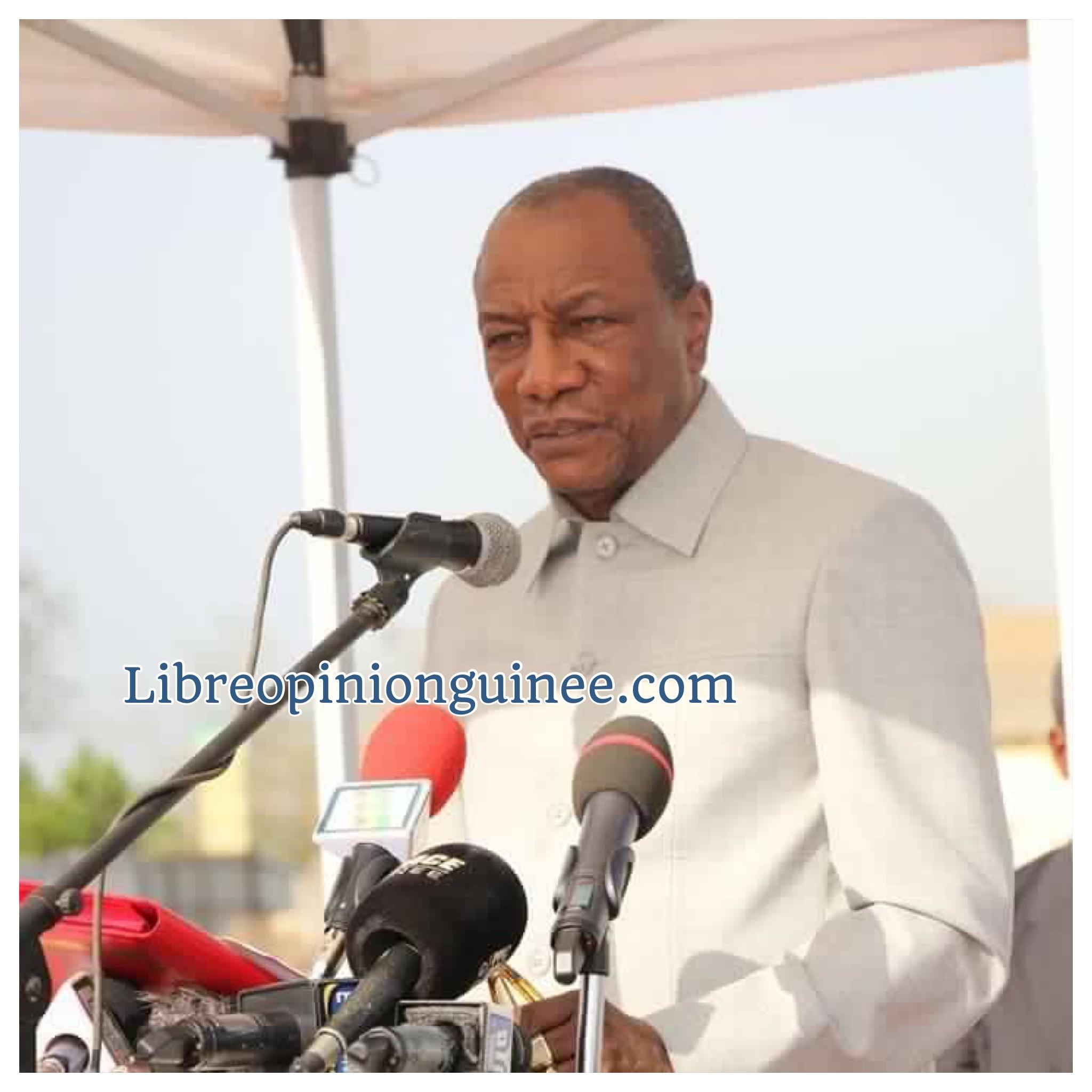 Alpha Condé Guinee