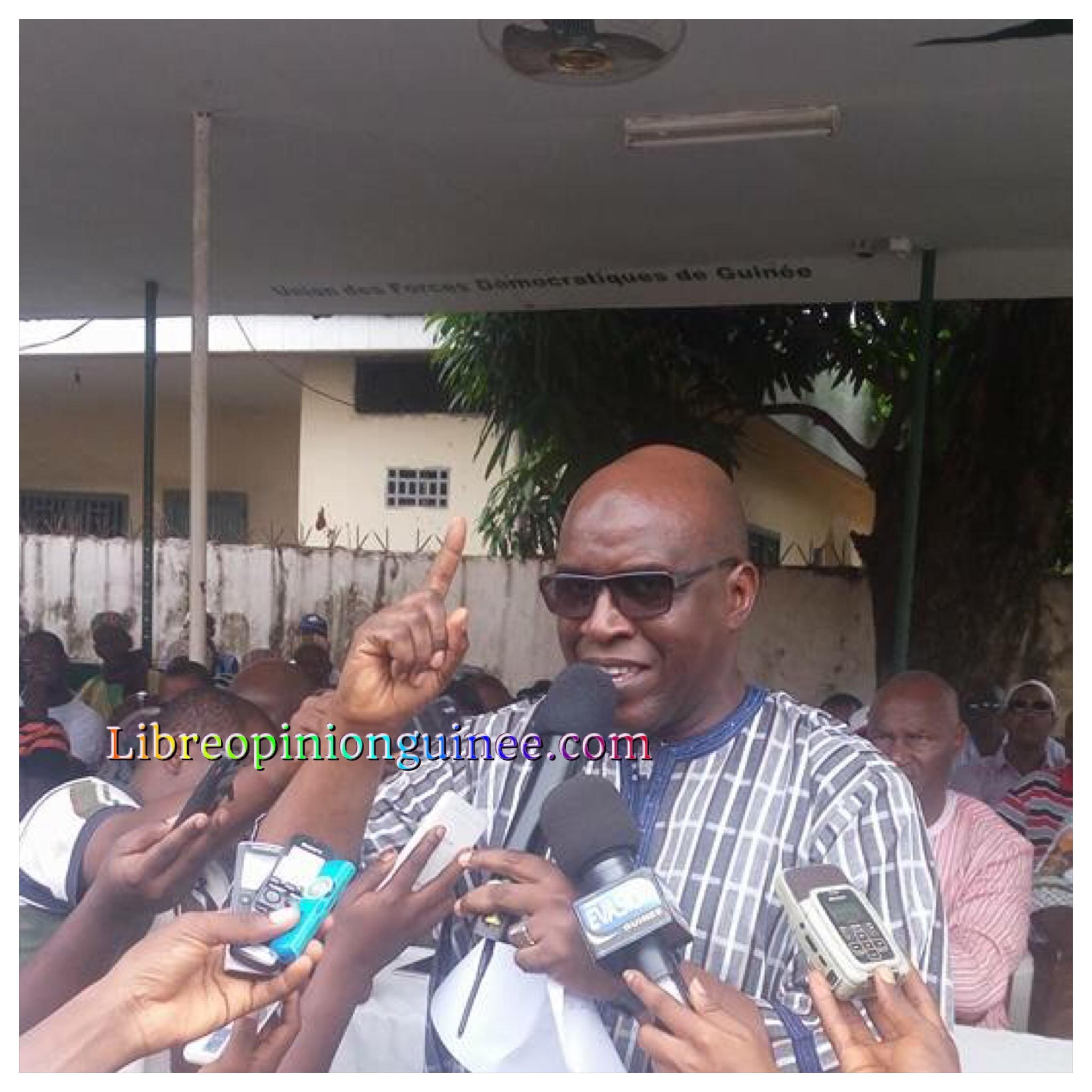 Fode Oussou fofana de l'ufdg