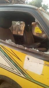 image dégât matériel voiture