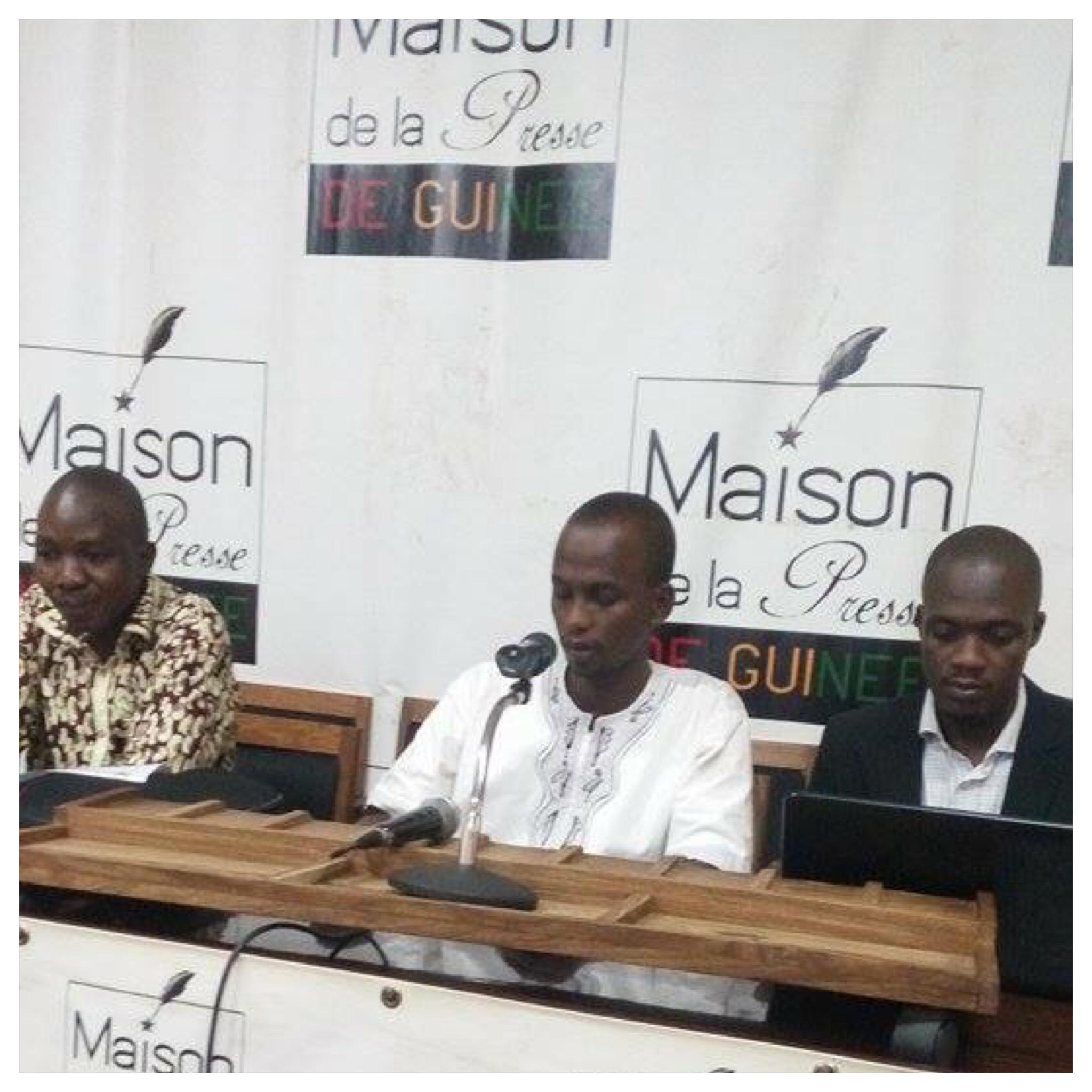 image Sidi Diallo syndicat de presse en Guinée