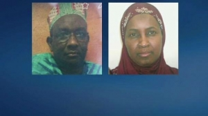 Mamadou Diallo et sa femme USA