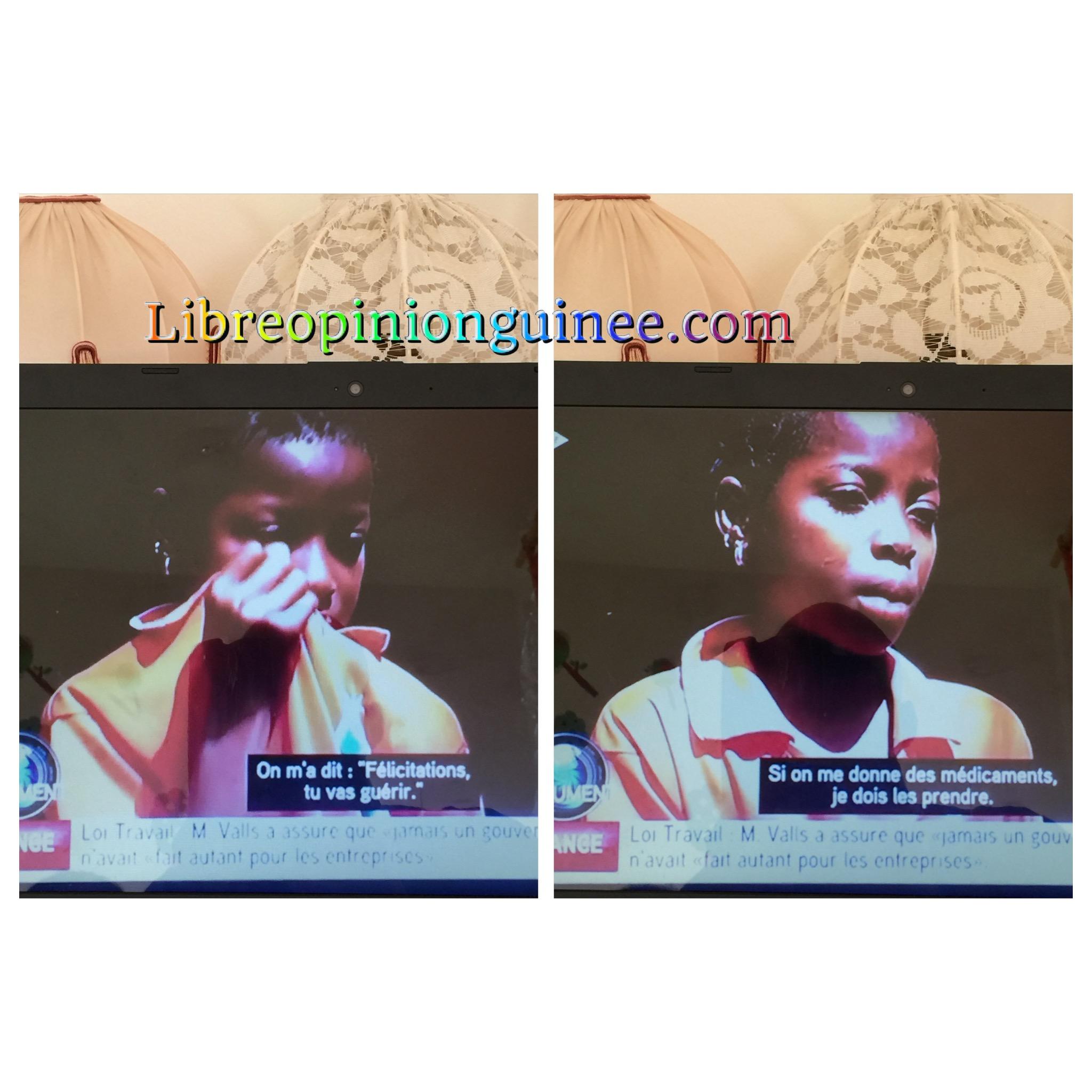 Rosalyne sur le virus Ébola