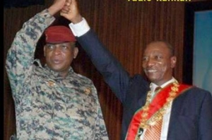 Sekouba Konate et Alpha Conde