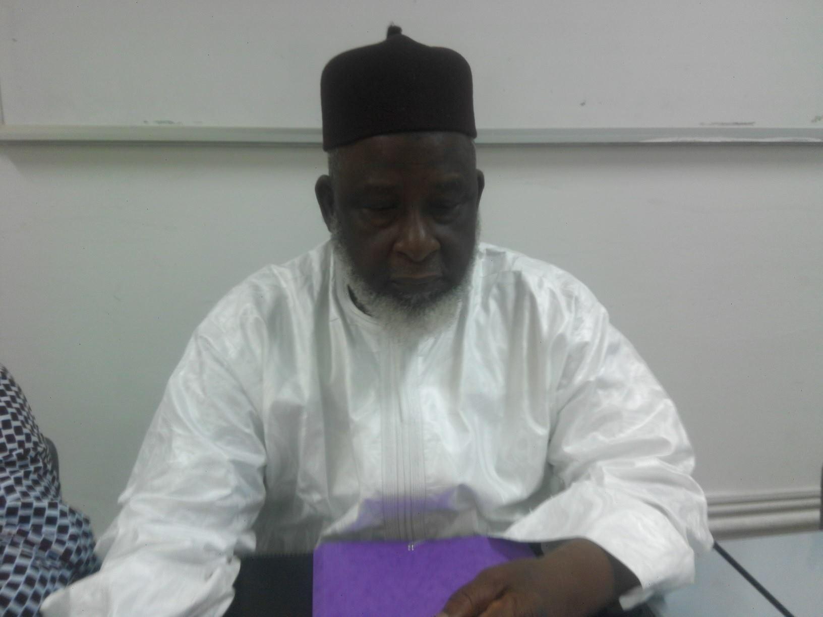 Imam mamadou saliou Camara Fayçal Guinee