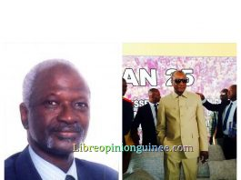 Mansour Kaba et Alpha Conde