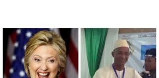 Hilary Clinton et Cellou Dalein