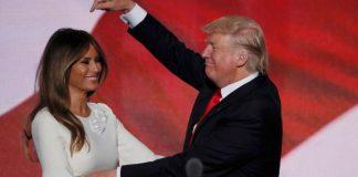 Donald Trump et Mélanie Trump
