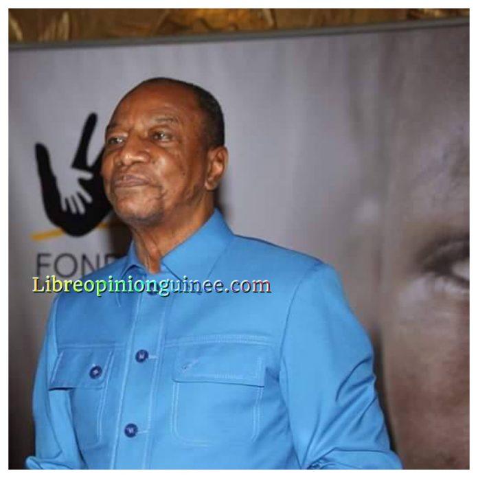 Alpha Conde President de Guinee conakry