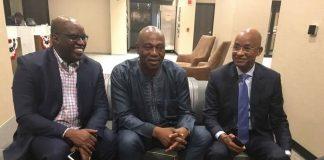 Fode oussou, Cellou Dalein et Damaro Camara