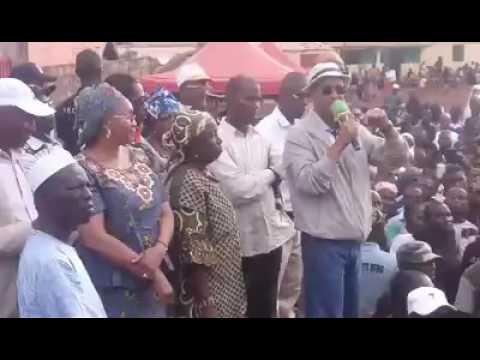 libreopinionguinee.com, discours musclé de Cellou Dalein Diallo a Lansanaya Barrage