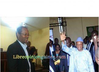 Alpha Conde et Ousmane Gaoual