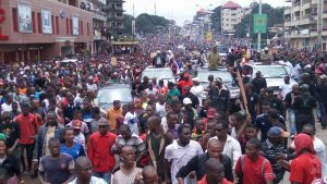 image marche du 16 août 2016 opposition guinéenne