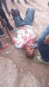 Manifestant tué à Bambeto